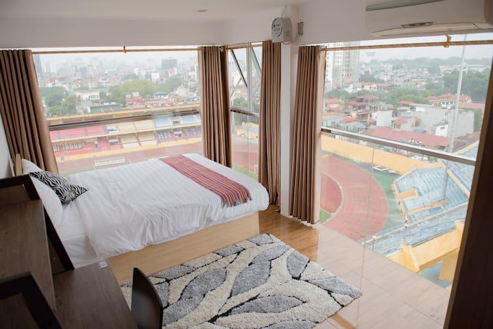 Modern apt w Amazing view in Hanoi Old Quarter