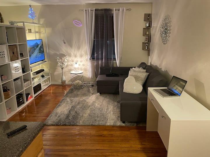 Cozy and comfortable studio apartment
