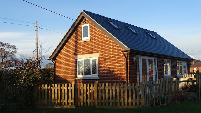 Cosy cottage in beautiful North Wales - Bodfari - Houten huisje