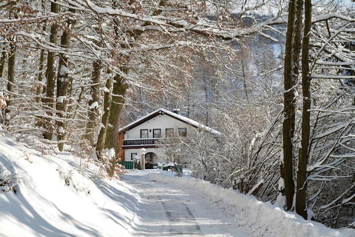 Alleinlage mit Sauna: FeWo mit schönem Südbalkon