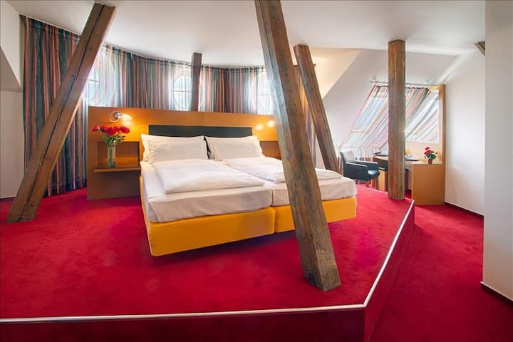 Deluxe Double room in hotel THEATRINO