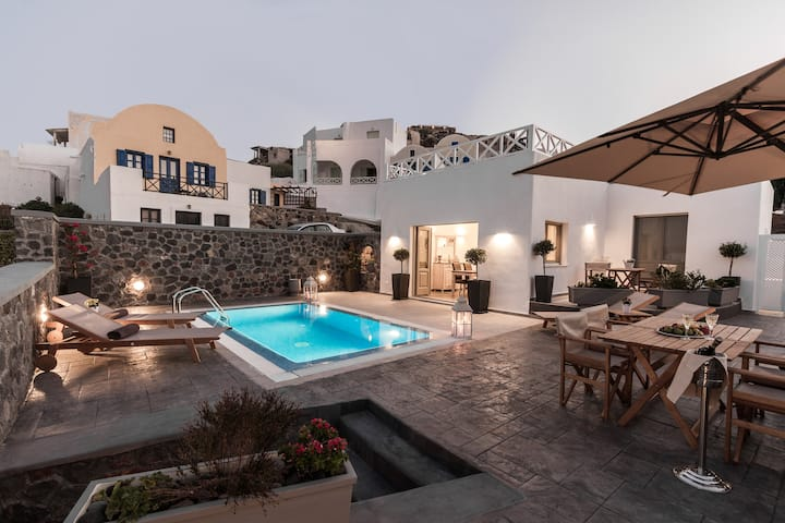 Boutique  Villa prive  pool, Akrotiri santorini