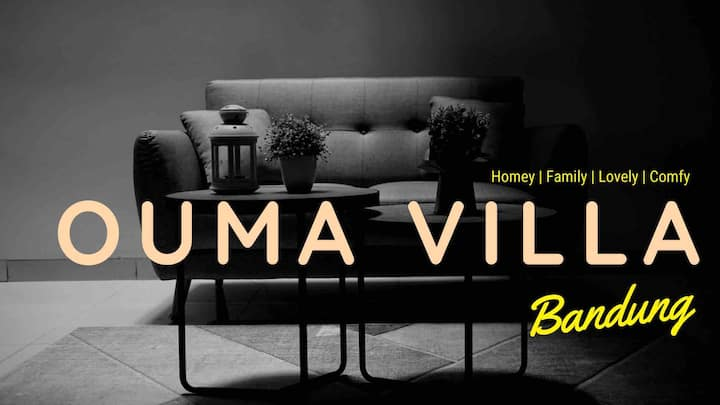 Brand New Modern Ouma Villa Bandung