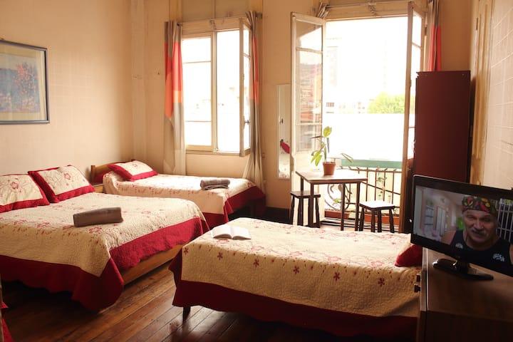 Habitación familiar centro Valparaíso