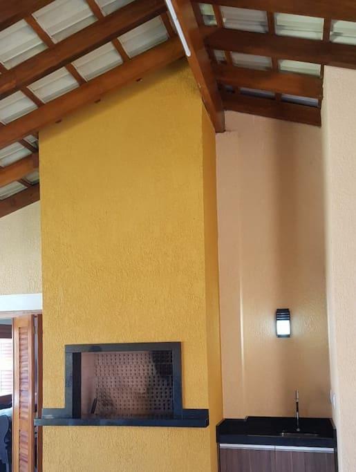 area externa garagem/churrasqueira