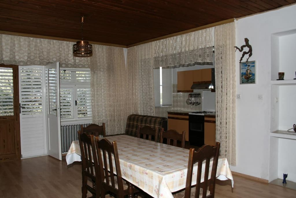 Dining room, Surface: 24 m²
