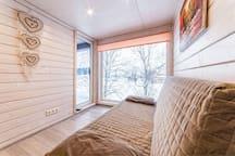 Sanino_space коттеджи в Петергофе с видом на озеро