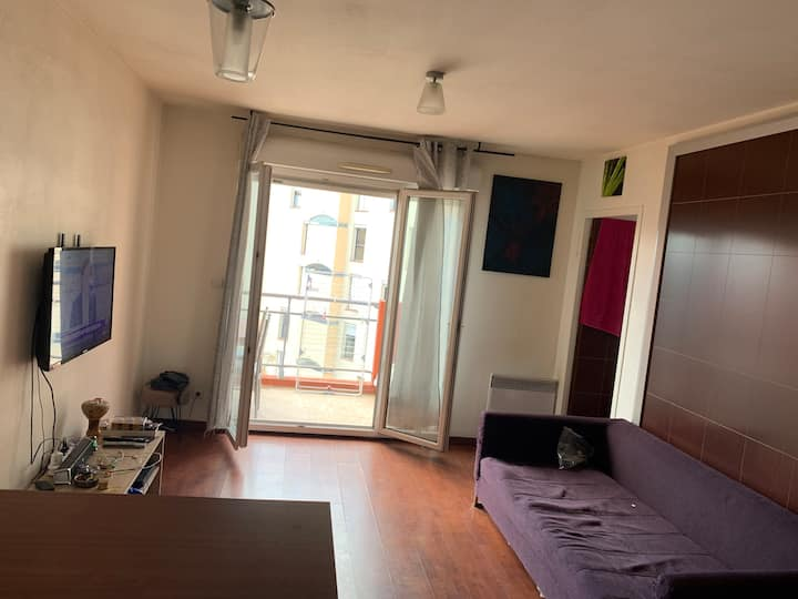 Appartement dans résidence Calme pas loin du centr