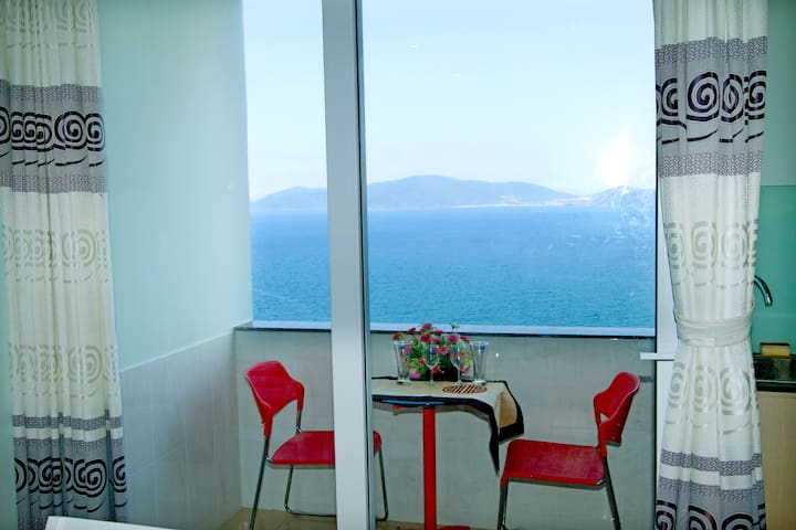 OCEAN VIEW APARTMENT - 2 BEDROOMS - tp. Nha Trang - Departamento