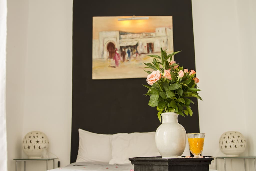 Riad Thalge in Medina - Master Room