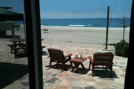 Beach Front House-Playa La Mision
