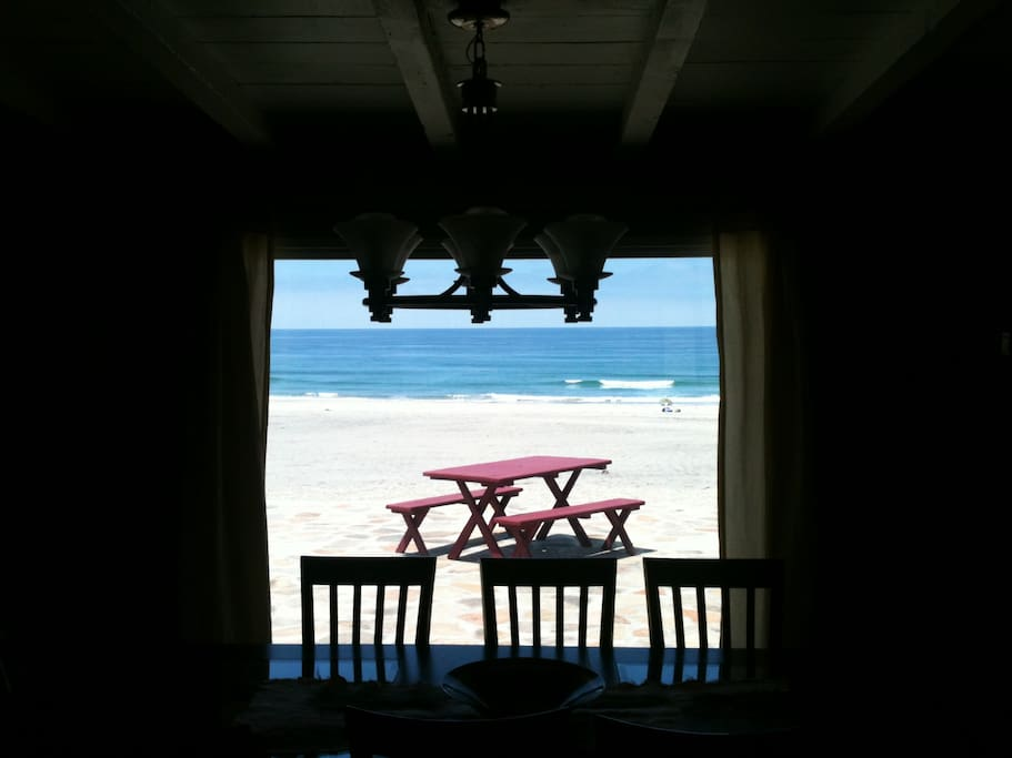 Ocean view from Dining