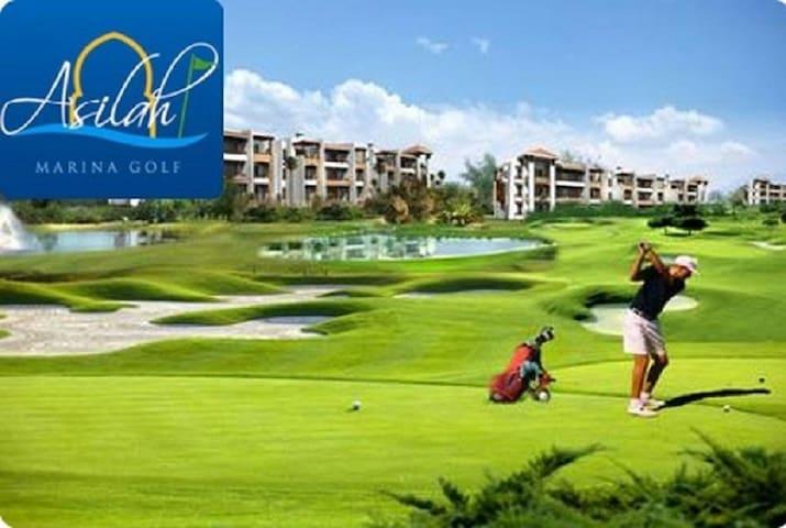 Bel Appart à Asilah Marina Golf