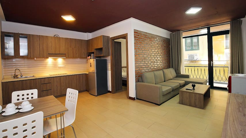 Nice/cozy 1 bed serviced apartment in West Lake