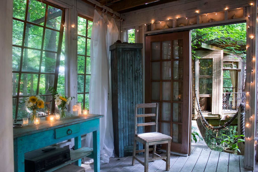Secluded Intown Treehouse - Treehouses for Rent in Atlanta, Georgia, United States