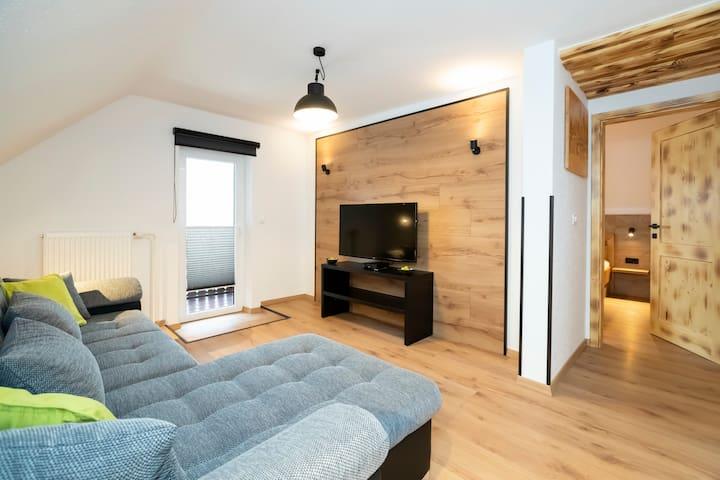 Apartment for 2 near Lake Bohinj