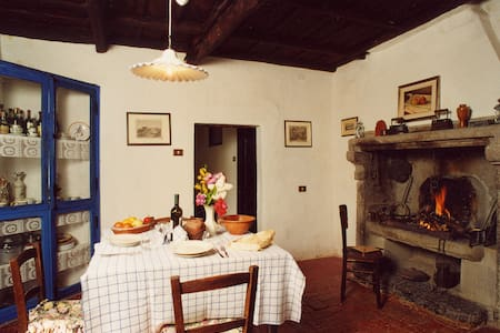 Countryside apartment with pool - Viterbo