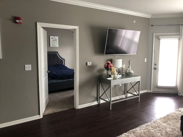 Luxury One Bedroom Apt near MCI & Downtown KC