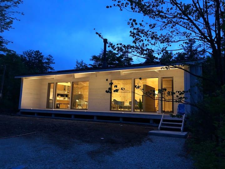 星野エリア/新築フィンランドログ/森の中で自然の音に癒されましょう