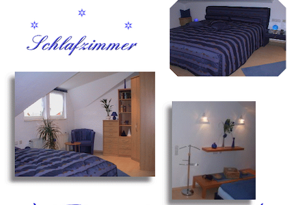 Holiday apartment in blue - Niedenstein