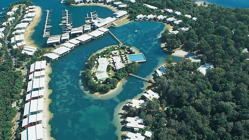 Couran Cove Island Resort  South Stradbroke Island