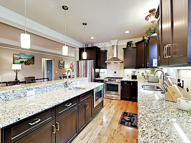 The kitchen is also where you will find the TurnKey HomeDroid Tablet. This electronic directory provides helpful household information (e.g., TV instructions).