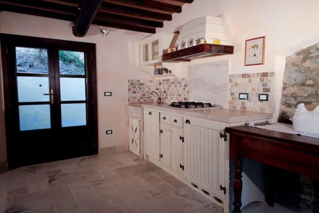 kitchen view..
