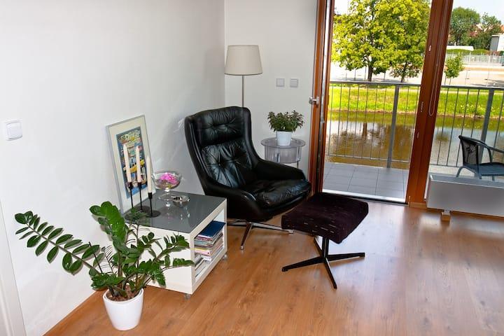 Modern 60 m2 apt. Ceske Budejovice