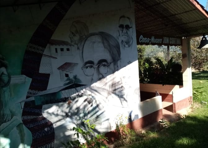 Cabaña de montaña Casa Blanca, Chalatenango