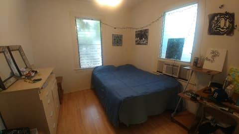 Furnished Private Bedroom in Two Bedroom house.