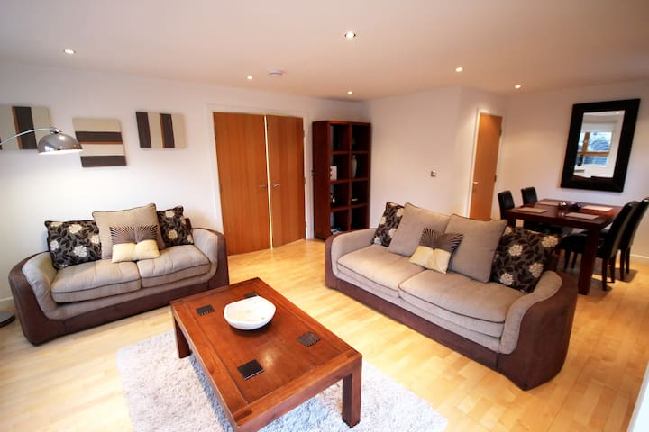 Luxury large 2 Bed Penthouse (Q1) - Newcastle upon Tyne - Apartament