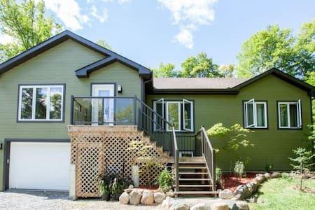 Maison en forêt - bien située - près de Ottawa - - Gatineau - Bungalov