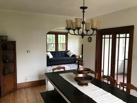 Charming, Lakefront Home Off Main Road