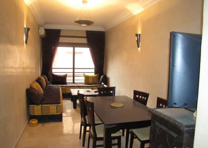Appartement 2 chambres, salon, 61m2 - Marrakech - Appartement