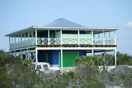 'The Boathouse'-Private Beachhouse on 3 1/4 acres