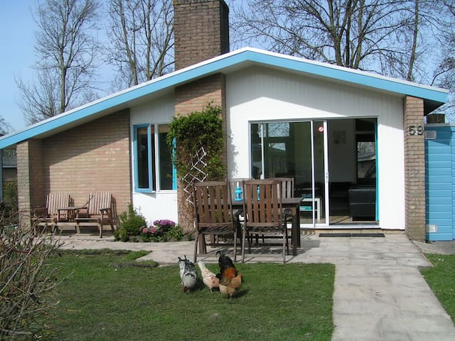 IJsselmeer, garden, pool, 5p, wifi - Andijk