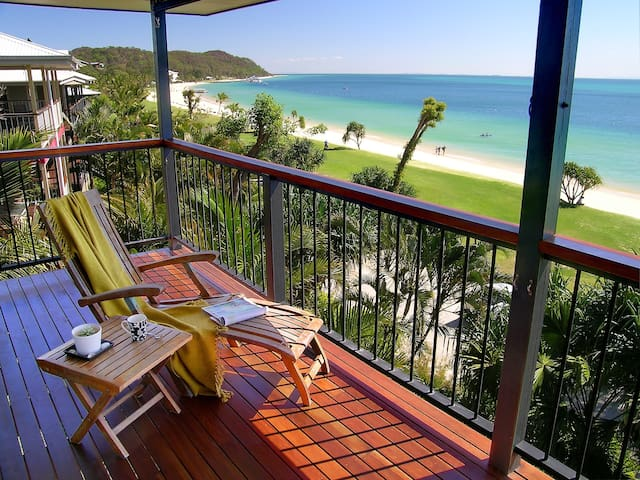Beachfront Bliss - Moreton Island - Casa