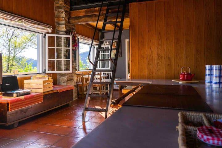 Acogedora casita rural en plena sierra de Ancares