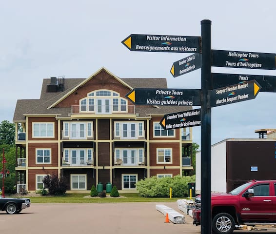 Newly renovated Charlottetown waterfront condo!