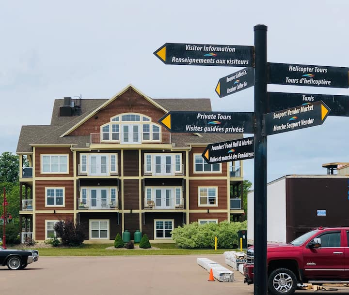 Newly renovated Charlottetown waterfront condo!