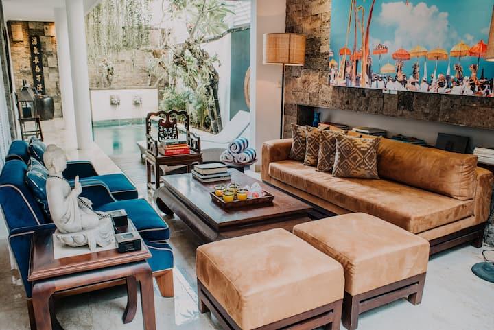 Hide away in luxury and comfort of Seminyak oasis