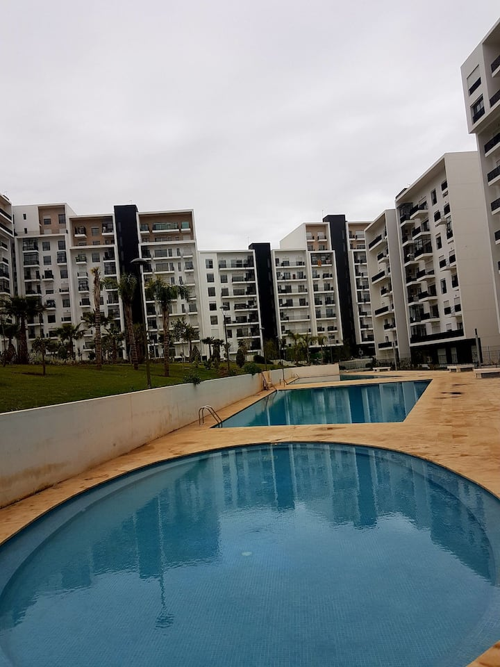 Appartement avec piscine Le Prestigia