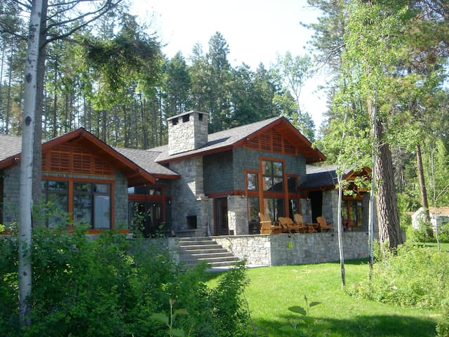 A Beautiful House on Flathead Lake - Polson - Cottage