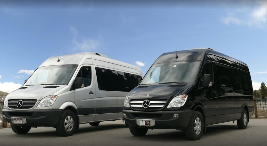 Private VIP shuttle service during winter months