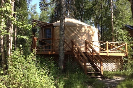 talkeetna east side cabins LLC yurt - Talkeetna