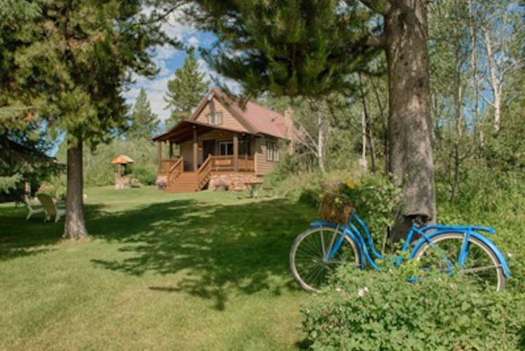 Yellowstone cabin vacation rental blockh tten zur miete for Log cabins in yellowstone national park