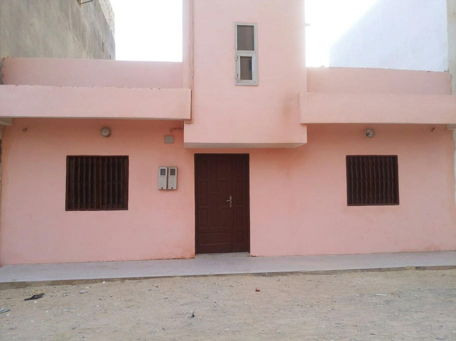 pink villa twin apartments-if requested and approved ahead of time,  one 3 bedroom apartment available now