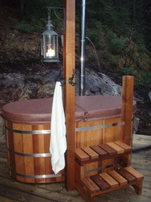 how to build a wood fired sauna