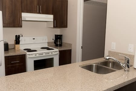 Beautiful 2 bedroom suite close to YEG Airport