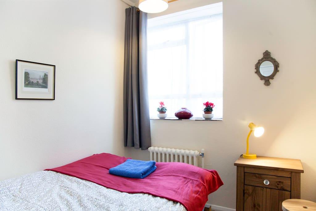 Newly refurbished room